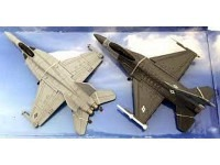 US Strike Force Collectio F-18 & F-16 Toy Planes