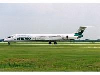 """MD-83 Reno Air """"Gulf Coast Flyer"""" N823RA"""