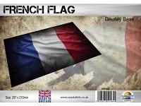 Diorama Flag Display Base - France