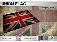 Diorama Flag Display Base - Union Flag