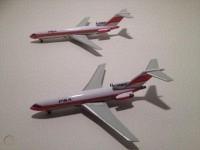 PSA B727-100 N693WA & B727-200 N540PS