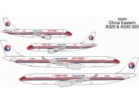 A330-300 China Eastern B-6119 und A320 China Eastern B-2338